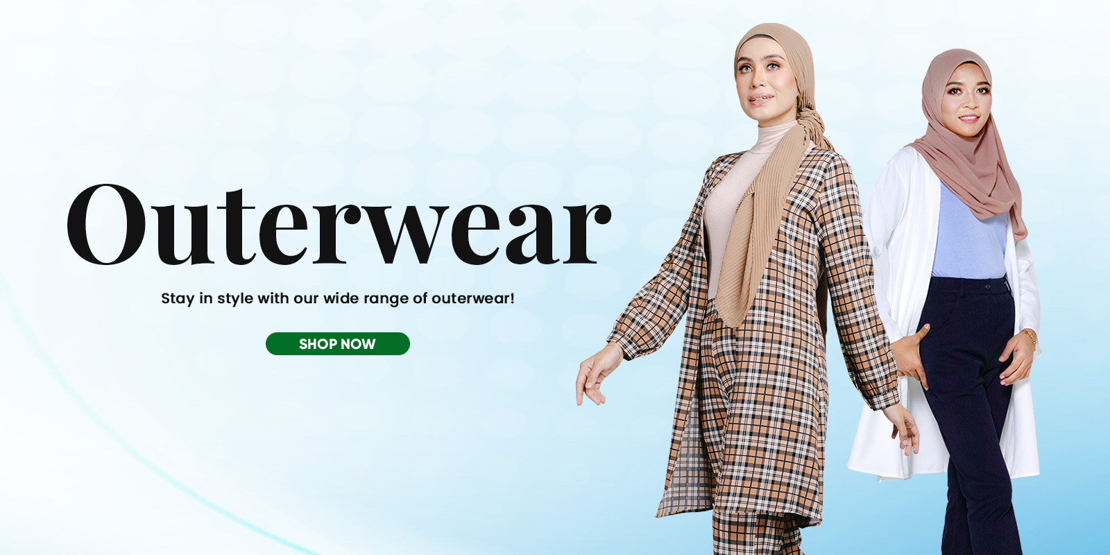 Outerwear Web Banner